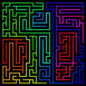Maze025x025length05spectrumnarrowpa